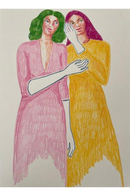 Rosie Kanellis Friend Series #12 ART