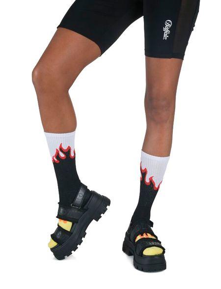 BUFFALO SANDALS ASPHA STR shoes - Black