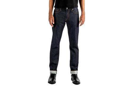 Kato Brand The Pen Slim Raw 10.5oz Jeans - Indigo