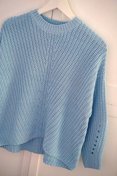 Solosix sample Ever Crew sweater - blue