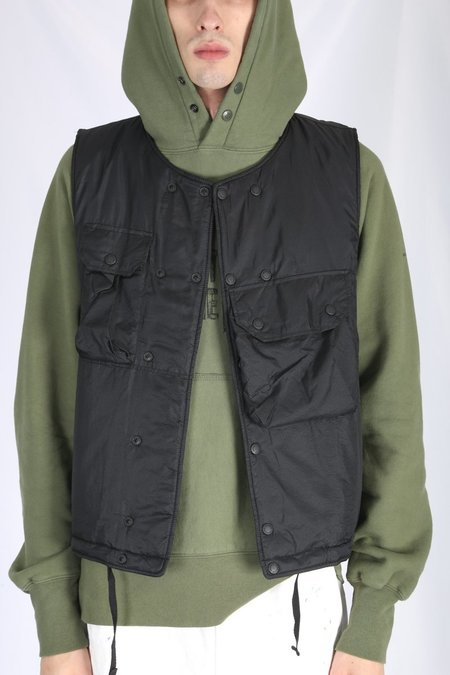 Engineered Garments Cover Vest - Black