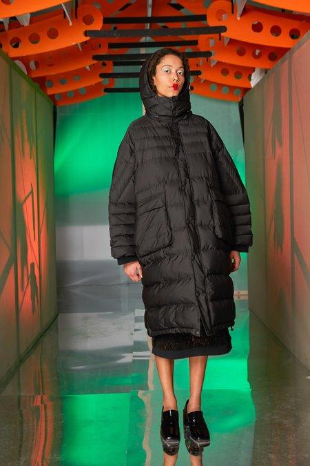 Henrik Vibskov Filo Puff Coat - black