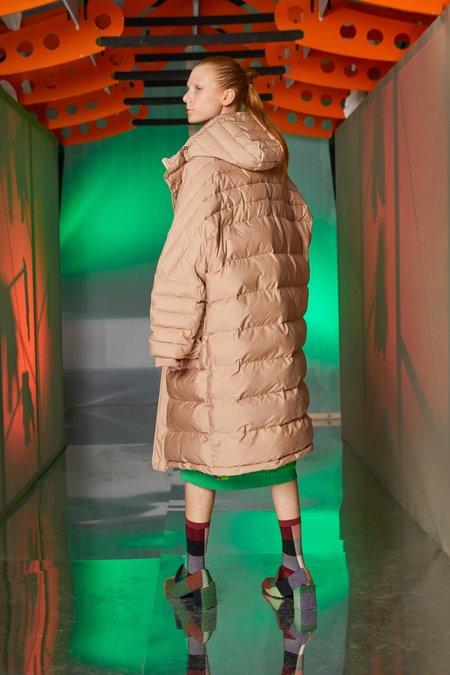 Henrik Vibskov Filo Puff Coat - Warm Taupe