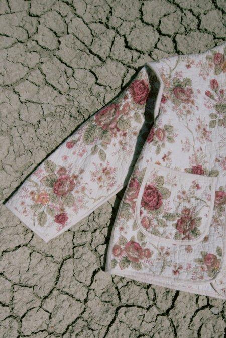 Jess Meany Juniper Cropped Coat - Sandy Rose