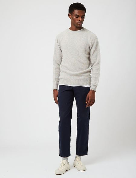 Bhode Supersoft Lambswool Jumper sweater - gray