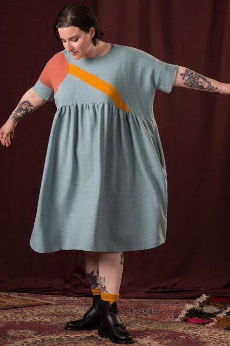 Jennifer Glasgow Calder Dress - Seafoam