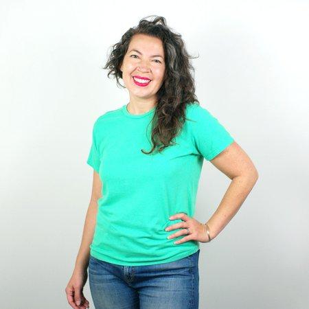 Jungmaven Lorel Crew T Shirt - Mint