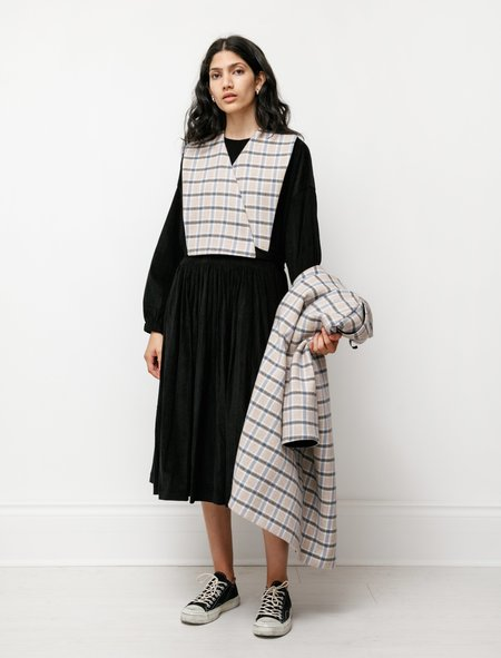 Sara Lanzi Shawl Coat - Check