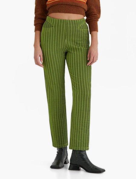 Paloma Wool Nadir Pants - Medium Green