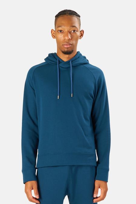 Blue&Cream Mason Pullover Hoodie Sweater - Deep Ocean