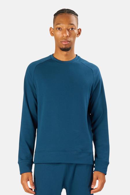 Blue&Cream Mason Crewneck Sweater - Deep Ocean