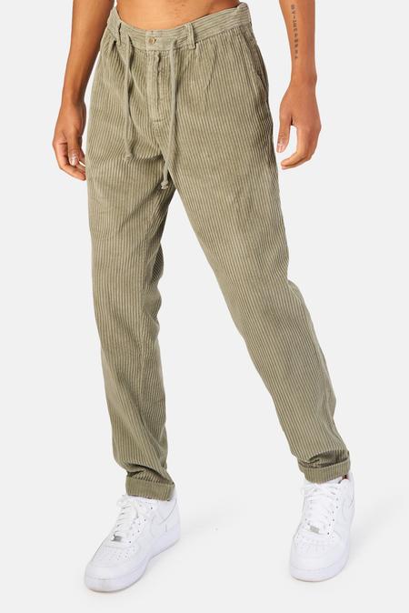 04651/ 04651 Corduroy Jogger Pants - Olive