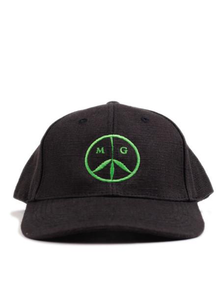 Mister Green Peace Cap Black/Green