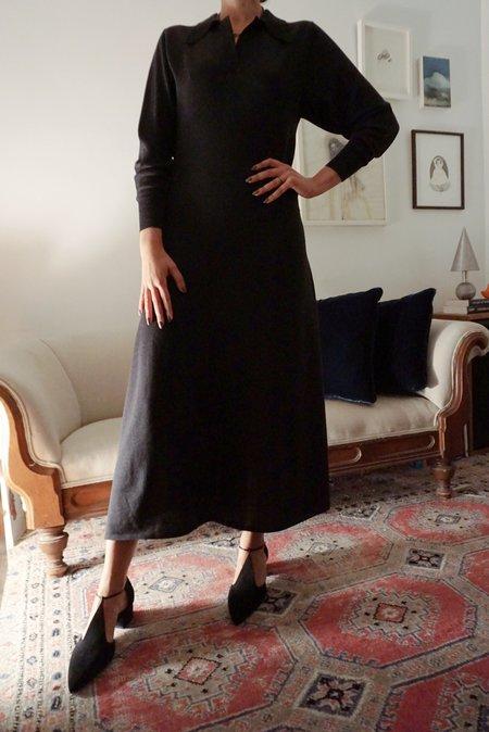 DIARTE OTTAVIA DRESS - BLACK MELANGE