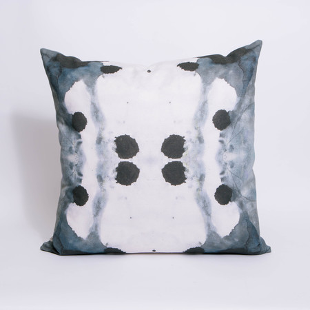 Eskayel Dynasty Indigo Pillow