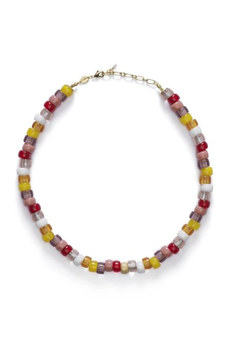 Anni Lu Poolside Tipsy Necklace - Gold