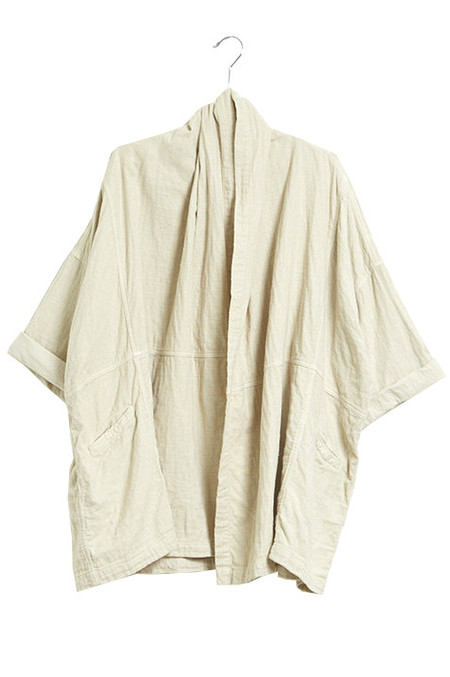Atelier Delphine Haori Coat - Birchwood, Cotton