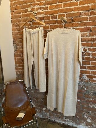 Lauren Manoogian Alpaca Sweater Dress