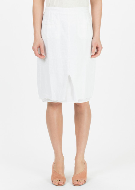 Hannoh Wessel Jacqueline Linen Skirt