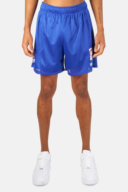 Blue&Cream New York Mesh Shorts - Red