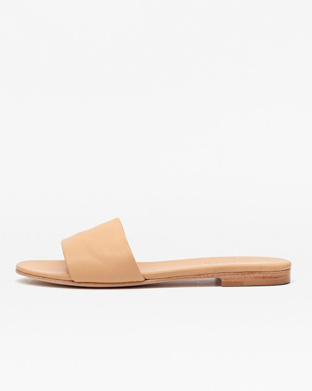 Nisolo Isla Slide Sandal Beige 5 for 5