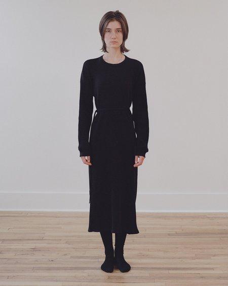 Baserange 100% Organic Cotton Dress - Black