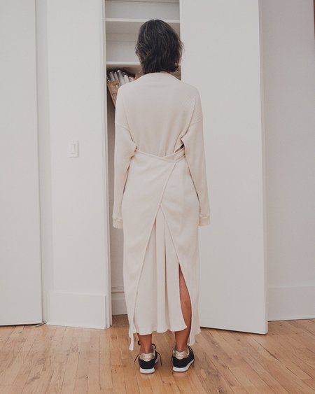 Baserange Organic Cotton Dress - Off White