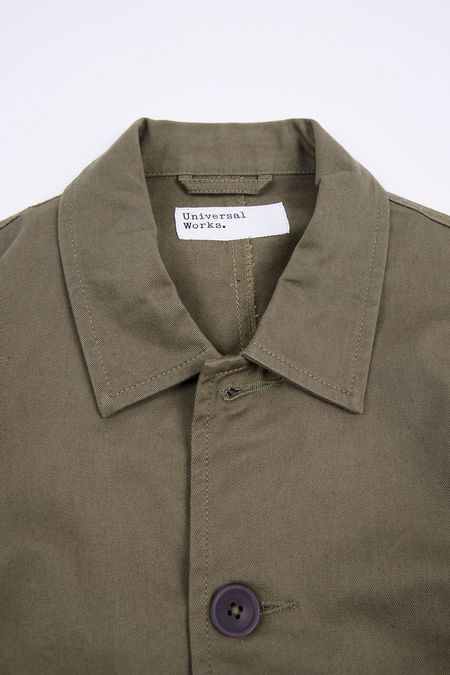 Universal Works TWILL BAKERS JACKET -