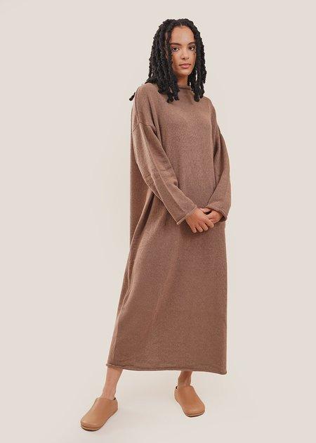 Mónica Cordera Baby Alpaca Roll Neck Dress