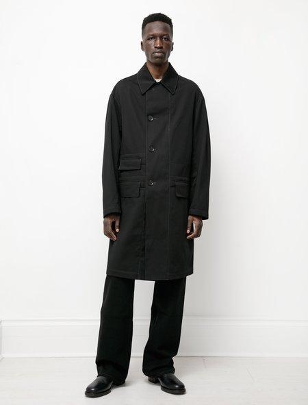 Lemaire Car Coat - Black