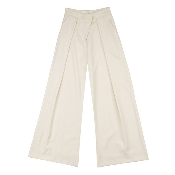 Vincetta Ivory Palazzo Trouser