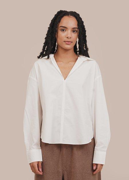 Mónica Cordera Double Collar Shirt - White