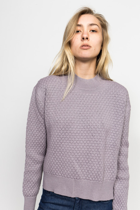 Le Mont St. Michel Bubble Knit Sweater
