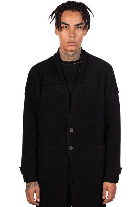 Isabel Benenato Wool Knitted Coat