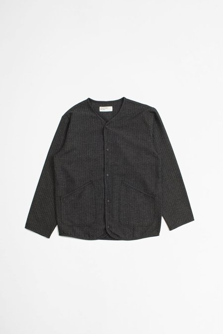 Universal Works Kharma Cotton Liner Jacket - Black