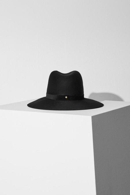 Janessa Leone Rylan Hat - Black