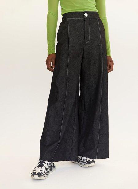 Eliza Faulkner Denim Lavoy Pants - Black