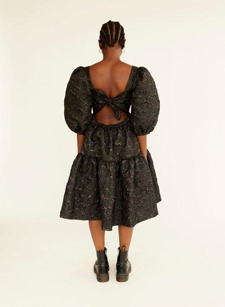 Eliza Faulkner Jacquard Ravenna Dress - Black