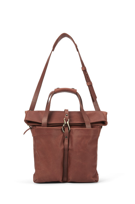 Lowell Mansfield Cognac Nappa Leather
