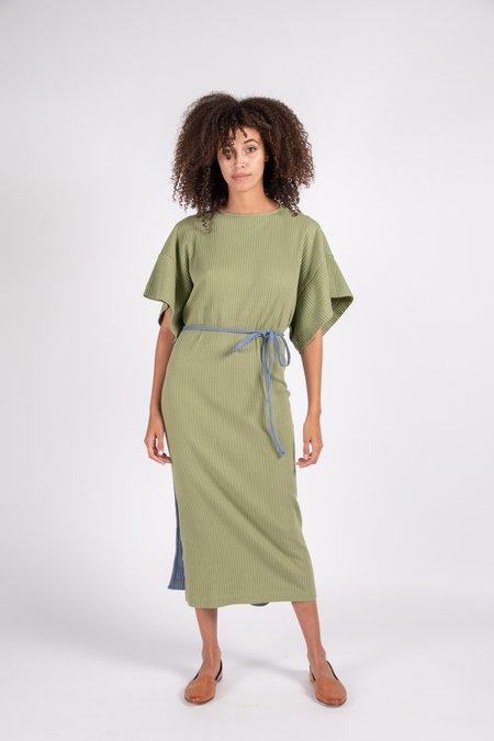 Baserange Clair Rib Fleece Dress