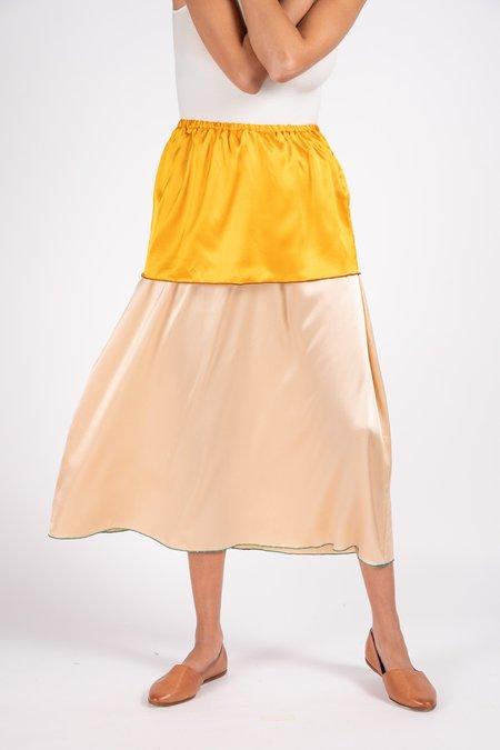 Baserange Say Silk Satin Skirt