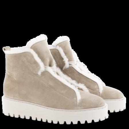 Kennel & Schmenger  Lambwool Lined Hike Sneaker - Biscuit
