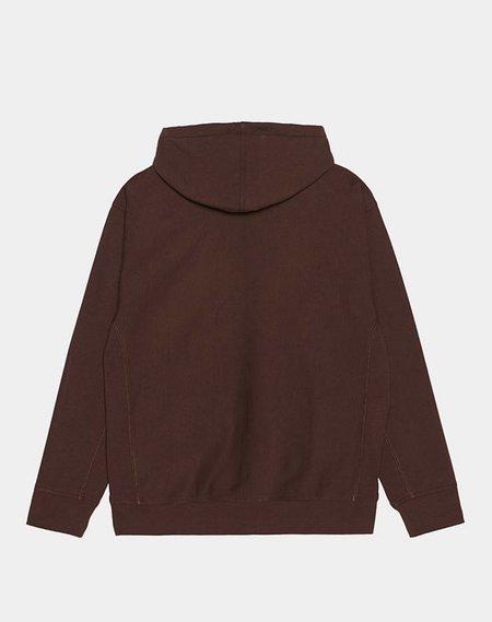 CARHARTT Hooded American Script Sweatshirt - Offroad
