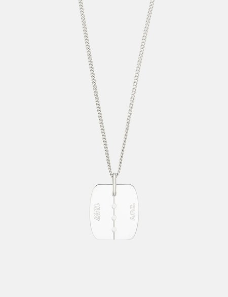 A.P.C. Liverpool Necklace - Silver