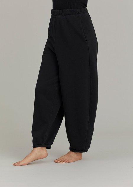 Black Crane Wide Pants - Black