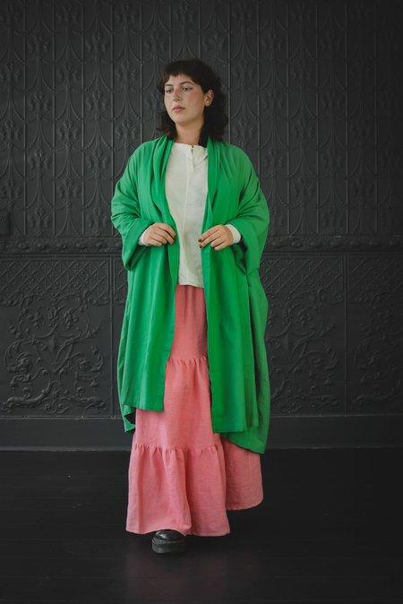 Atelier Delphine Long Haori Coat - Kelly