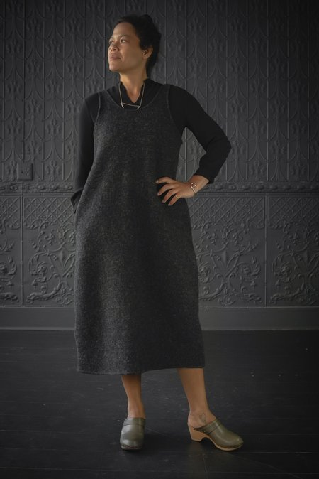 Worker's Nobility Pichi Jumper - Charcoal Grey