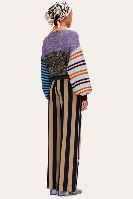 STINE GOYA Adonis Sweater - Checks