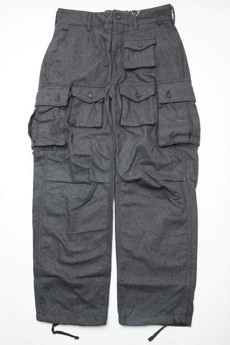 Engineered Garments Wool Cotton Flannel FA Pant - Grey