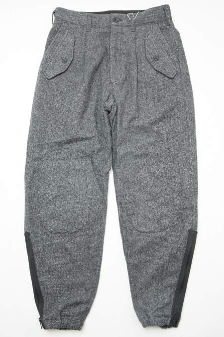 Engineered Garments Poly Wool Herringbone IAC Pant - Grey